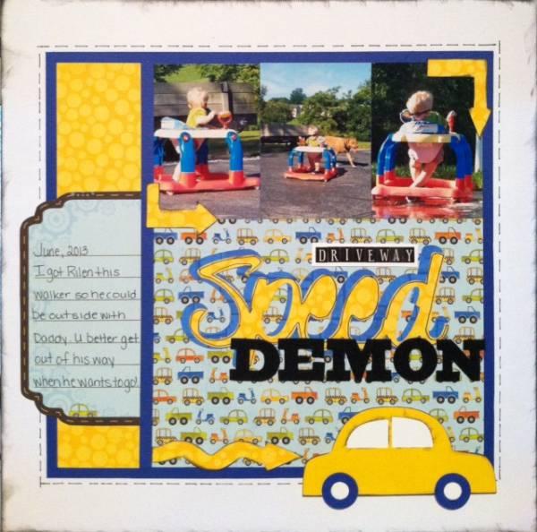 Driveway Speed Demon