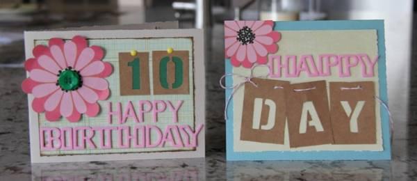 Happy Birthday Cards *April Solo*