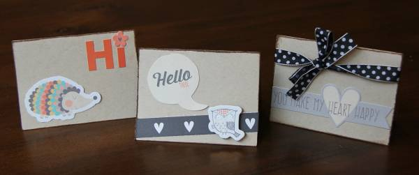 notecards *October Solo*
