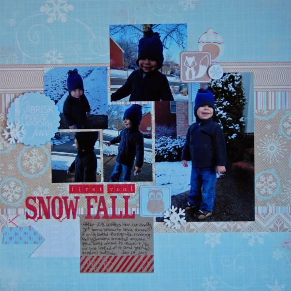 First Real Snowfall (Medley)
