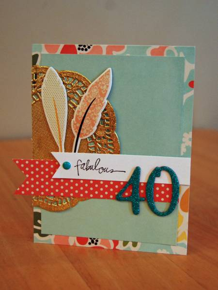 Fabulous 40 Card