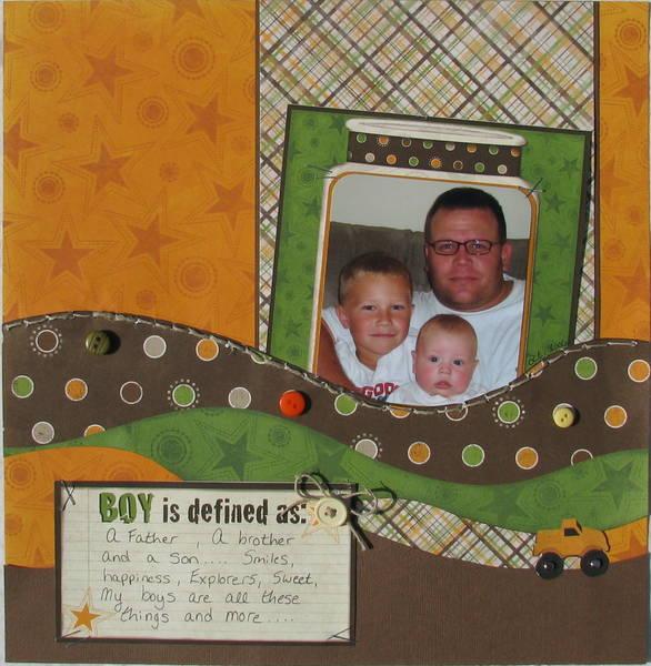 Boy is defined...