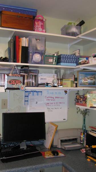 Scrap room view 2